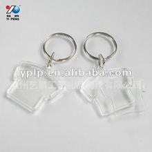 acrylic photo frame key chain