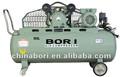 cfm 6 2hp la gasolina y el motor eléctrico de accionamiento de la correa del compresor de aire 150l