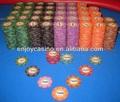 10 g Casino profissional Venerati personalizado cerâmica Poker Chip