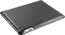 Ultra Slim PU Leather case for ipad 3 & Leather cover case for ipad leather case