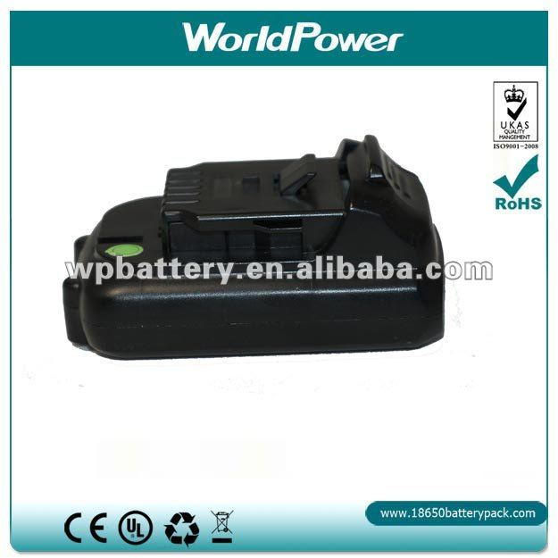 power tool li ion battery for dewalt 12V 1500mAh