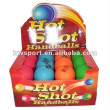 hollow rubber bouncing ball