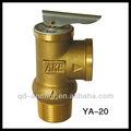 de alívio de pressão válvulas para sistemas de bem com a alavanca de teste
