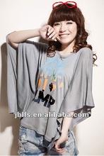 2012 most popular ladies fashion t-shirt