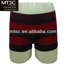 2012 new seamless stripe sexy mens panties