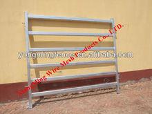 hot galvanized steel tube livestock/cattle/sheep/bull/caw/goat fence panels(hot sale)