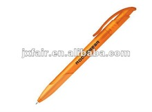 yellow barrel pen plastic products color plastic pen /ballpoint pen