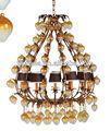 Cristal antiguo iluminación de la lámpara