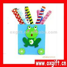 OXGIFT Cute Wood Pen Holder for Promotional Gift