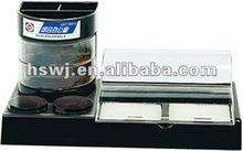 2012 Hot Sale Plastic Desk Organizer Gift Promotion Pen Holder(QBF-903A)