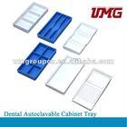 Autoclavable Plastic sterilization Trays, dental cassette, dental instrument