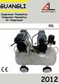 Dentaires mini compresseur d'air exempt d'huile 50 litre.