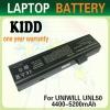 laptop battery for UNIWILL L50-3S4400-S1S5 FUJITSU-SIEMENS Amilo Pa 1510,Pi1505,Pi1506,PA1510,PA2510