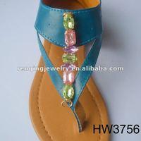 Sra. zapatos sandalias accesorios de calzados 2013