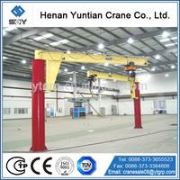 360 Degree Rotating Jib Crane with Hoist