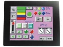 Yulian QC6-126A Embedded touch computer with Contrast Radio 250:1