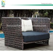 outdoor rattan furniture wicker single sofa