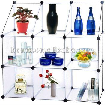 Sell newest DIY plastic storage shelves