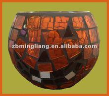 Halloween glass mosaic lamp