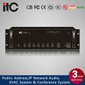 El cci ti-650b 5 zona amplificador mezclador con equilibrada xlr de entrada de micrófono y alimentación phantom