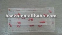 good quality printing disposable face mask