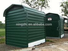 Outdoor Storage shed/metal shed/roller door garage
