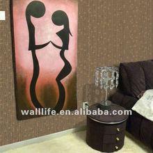 Vinyl deep embossed wallpaper--WO3045