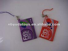 Ningbo Sunrise/ICTI factory/2014 hottest toy/ silicone key chain