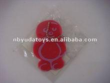 Ningbo Sunrise/ICTI factory/silicone key chain and phone decoration/TPR toy