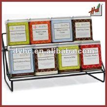 Metal tea/coffee rack HCTR8B