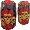 Acrylic nail art 3D design