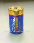 1.5V 12000mAh LR20 D Alkaline Dry Battery