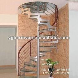 Modern steel stair stringer 9003-5