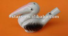 Ceramic singing whistle birds for sale , children gift
