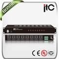 El cci ts-820 8 canales de control remoto de audio de potencia secuenciador con función de alarma