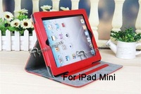 360 Degree Rotating Leather Stand Case with Auto Sleep and Wake up Function,fashion housing for ipad 2 3