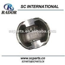 make up of aluminum diesel engine piston inner