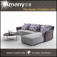 A9821 Modern Design Leisure fabric sofa+FE2029 tea table