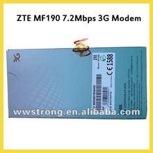 unlocked and original ZTE MODEM mf190