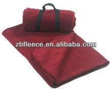 Polar Fleece Travel blanket for camping