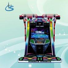 E Dancer amusement video dance game machine
