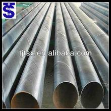 spirally welded steel pipe for fluid