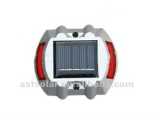 Flashing or Steady Lighting Solar Road Stud-LED color and window color optional
