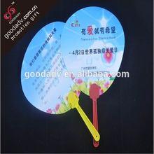 2014 New arrival popular gifts promotional plastic fan / PP folding fan