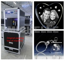 Magic high speed crystal photo engraving machine