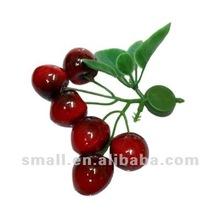 Decorative Artificial cherry magnet fruit #1037477