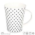 çiçek tasarım kahve kupa kemik çini/günlük dayanıklı seramik bardak 12oz