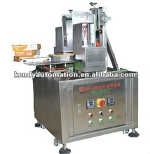 KD-H semi-auto and adjustable gluing and sticking stainless steel machine for different size paper box