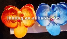 cheap artificial orchid bush flower for hair and ear