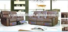 Good quality price lazy boy leather recliner sofa,modern leather sofa YR2128A